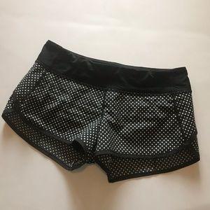 lululemon Run Speed Shorts Biggy Dot Printed 6